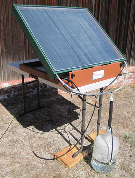 Solar still | Exceptional water purity using the sun